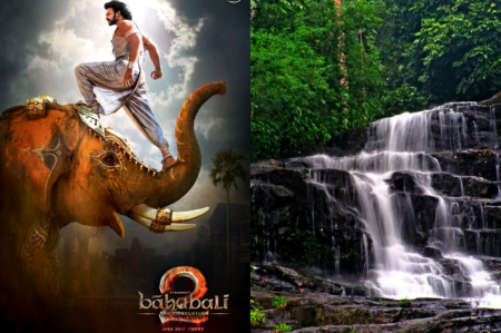 A view of exotic location in South India as seen in Baahubali 2