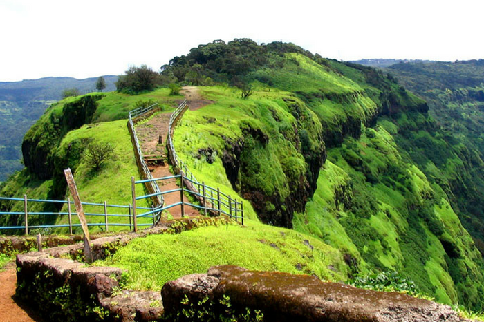 The beautiful nature view in Mahabaleshwar