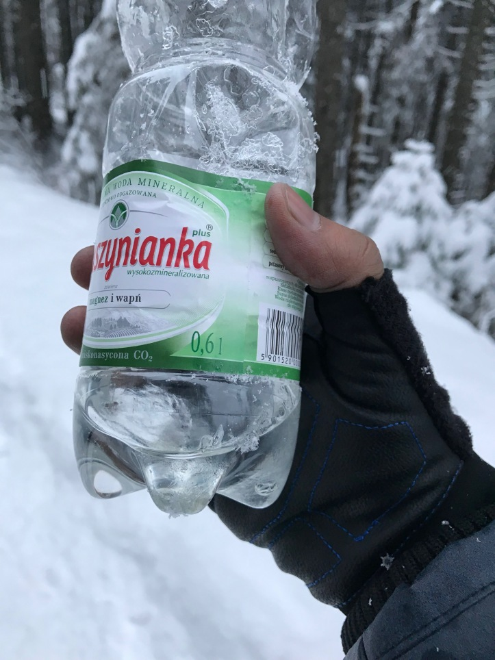 frozen water
