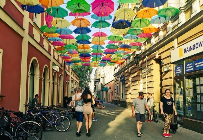 Street in Leszno