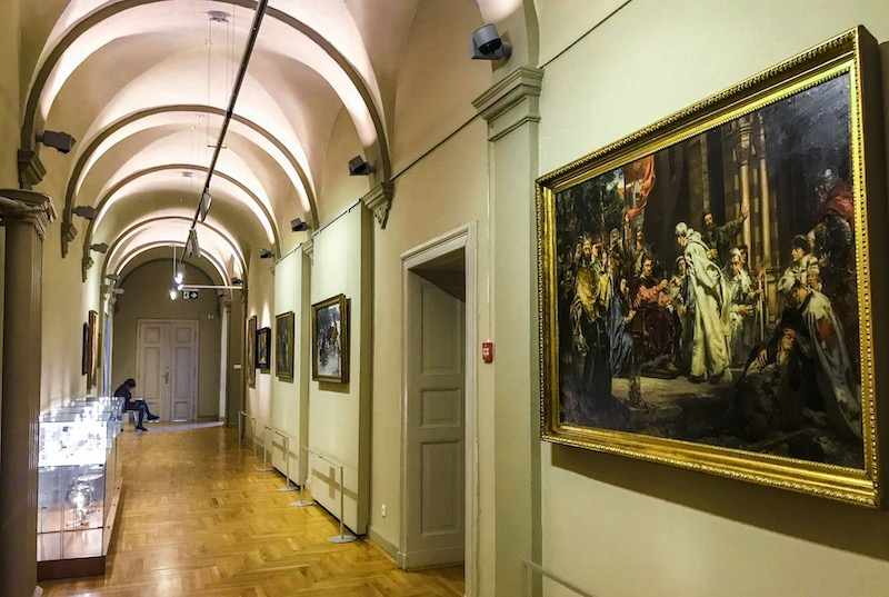 National Museum gallery in Wroclaw