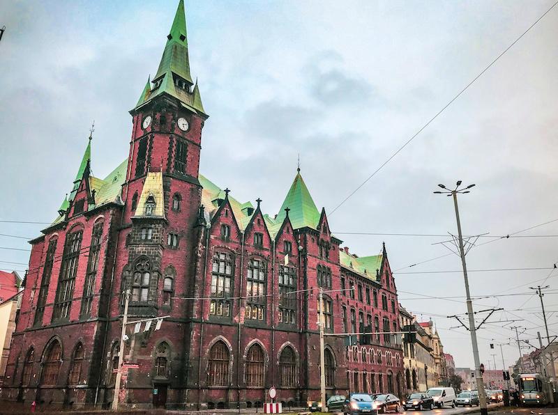 University main library in Rynek
