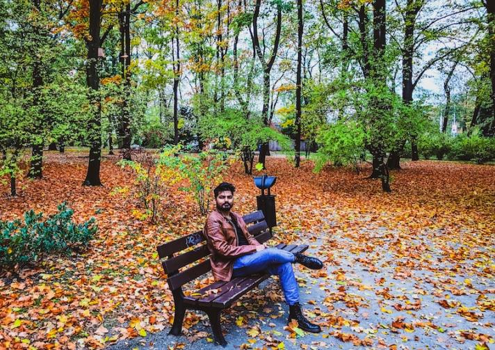 Szczytnicki Park in Wroclaw in Poland