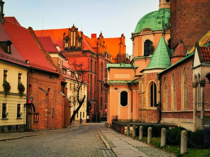Ostrow Tumski Wroclaw