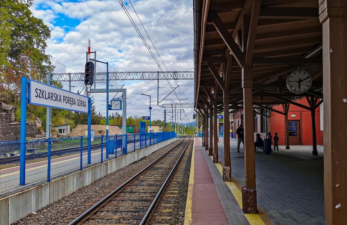 Szklarska Poręba Gorna train station